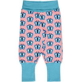 Maxomorra Pants Rib Bluewing Butterfly