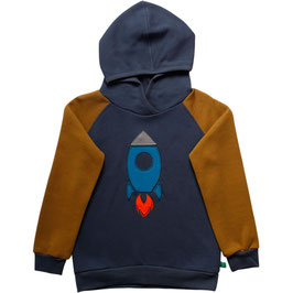 By Green Cotton Fred's World Sweat Hoodie Space