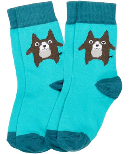 Maxomorra Socks Browny Dog 2 Packs