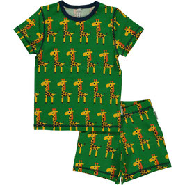 Maxomorra Pyjama SS 2-teilig Giraffe