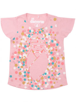 Danefae Buckwheat Top Cute Pink Confetti Freja