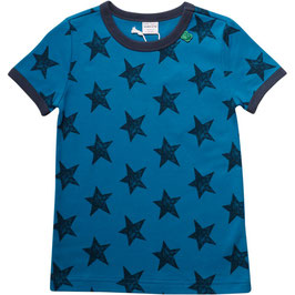 By Green Cotton Fred's World Shirt SS Star Blue