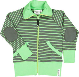 Geggamoja Zipsweater Mossgreen/green