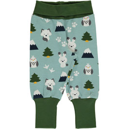 Maxomorra Pants Rib Winter World
