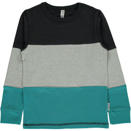 Maxomorra Shirt LS Block Black