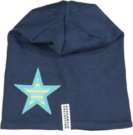 Geggamoja Mütze Fleece Star Marine