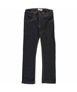 Maxomorra Pants Denim Dark Denim Blue