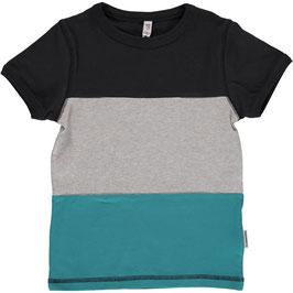 Maxomorra Shirt SS Block Black
