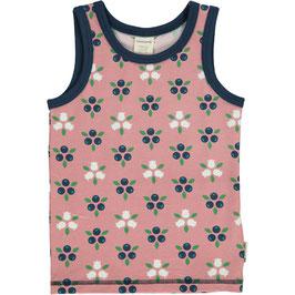 Maxomorra Tank Top Blueberry Blossom