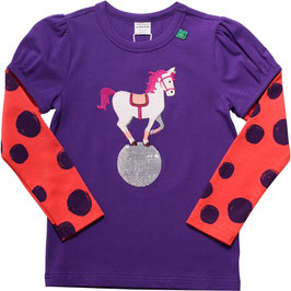 By Green Cotton Fred's World Shirt LS Circus