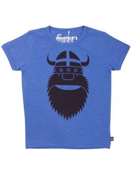 Danefae T-Shirt Organic Merian Tee Ice Blue Erik *AKTION*
