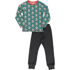 Maxomorra Pyjama Set LS Dalmatian Buddy