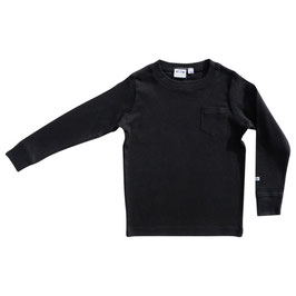 Ebbe Shirt LS Basic Eskil Black