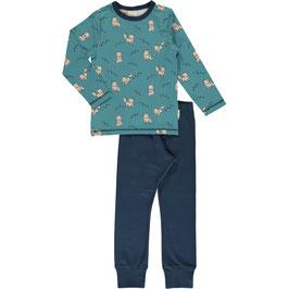 Maxomorra Pyjama LS Arctic Fox