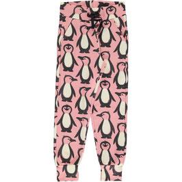 Maxomorra Sweatpants Penguin Family