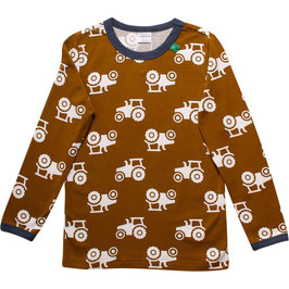 By Green Cotton Fred's World Shirt LS Tractor