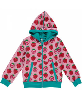 Maxomorra Cardigan Strawberry