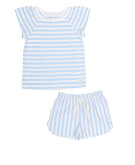 Snork Selma Summer Pyjama Sea Stripes