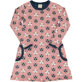 Maxomorra Dress LS Blueberry Blossom