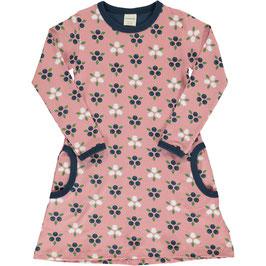 Maxomorra Dress LS Blueberry Blossom