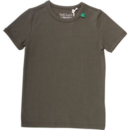 By Green Cotton Fred's World Shirt SS Dark Green