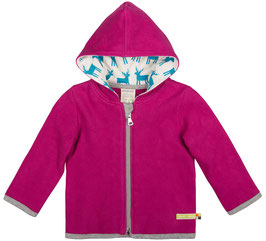 Loud + Proud Jacke Fleece, Orchid