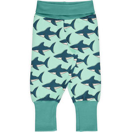 Maxomorra Pants Rib Shark