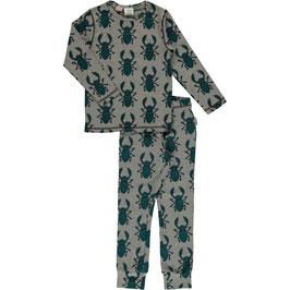 Maxomorra Pyjama LS Beetle