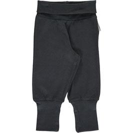 Maxomorra Pants Rib Black