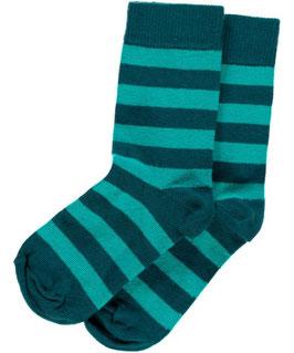 Maxomorra Socks Blue Turquoise