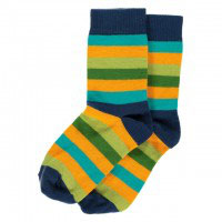 Maxomorra Socks Blue Mix