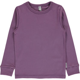 Maxomorra Top LS Dusty Purple