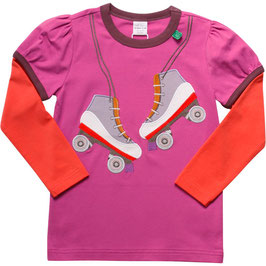 By Green Cotton Fred's World Shirt LS Rollerblades
