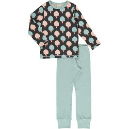 Maxomorra Pyjama LS Sweet Cotton Candy
