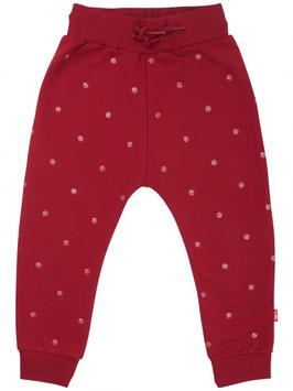 Danefae Silver Pants JR Red Glitter