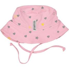 Geggamoja Sunny Hat Pink Heart