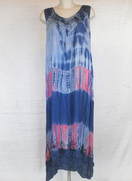 Robe Longue xxl Bleue