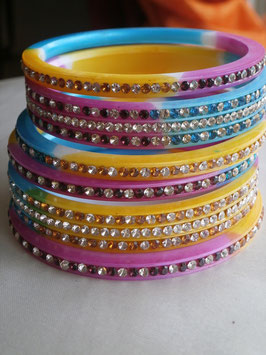 Bracelets Churiyas multi color