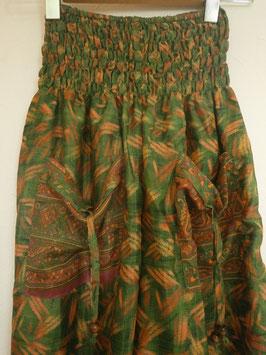 Pantalon Bouffant Vert