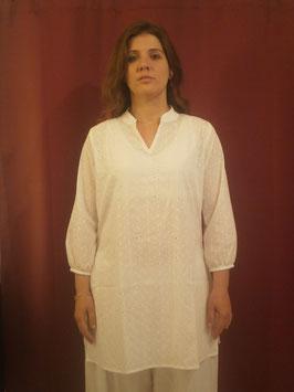 Tunique Blanche en coton