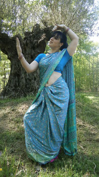 Sari Rani Lory Turquoise