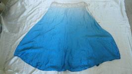 Jupe Madhuri Bleue mi-longue