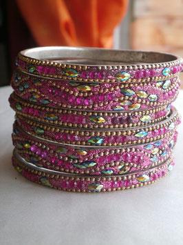Bracelets Churiyas roses