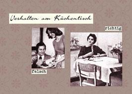 Richtig-falsch: Am Küchentisch