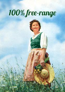 100% free-range