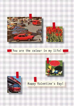 Colour! Happy Valentine!