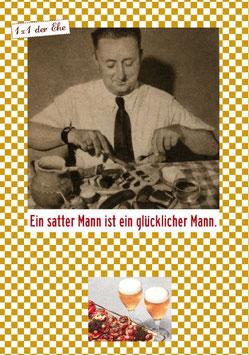 Satter Mann