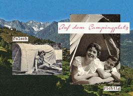 Richtig-falsch: Auf dem Campingplatz