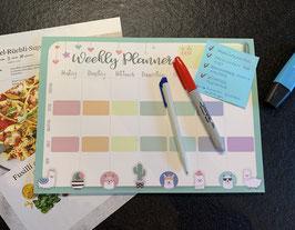 Weekly Planner - Block A4