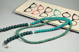 Brillenkette massiv, klare Farbe, klare Form